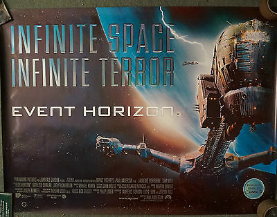 Event Horizon (1997) UK Dble Sided Quad Poster 30 x 40 inches