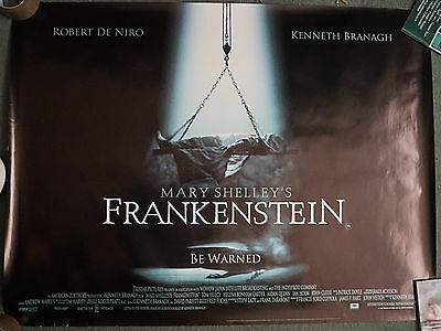 Mary Shelley's Frankenstein (1994) REG UK Dble Sided quad POSTER 30 x 40 inches