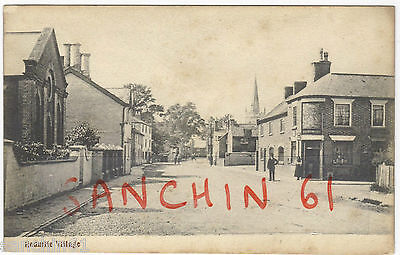 Redmile Village Scene With Post Office Chapel Church Animated Pu 1909