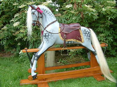 Super Remodeled Haddon Pony Rocking Horse With Free Delivery