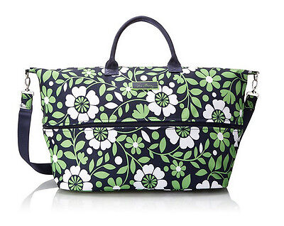 Vera Bradley Lighten Up Expandable Travel Carry On Bag in Lucky You NWT R$98.95