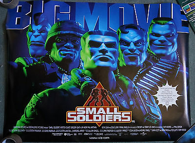 Small Soldiers(1998)Original Regular Edition Dble Sided UK Quad Movie Poster