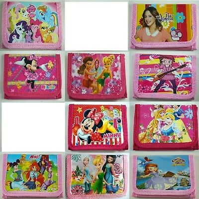 HOT Kids Children Boys Girls Cartoon Character Wallet,Coin Purse, Violetta Sofia