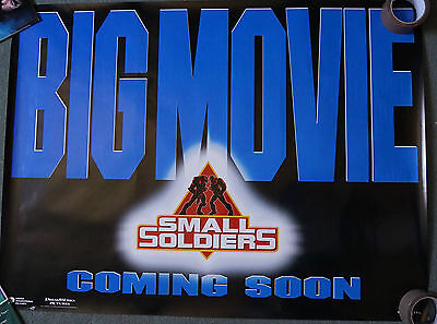 Small Soldiers(1998)Original Advance Edition Dble Sided UK Quad Movie Poster