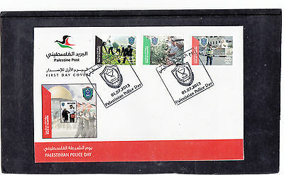 Palestine 2013  Police Day First Day Cover FDC