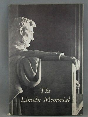 The Lincoln Memorial Vintage Advertising Guide Book Souvenir 1950 Illustrated