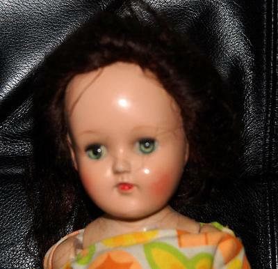 Vintage Ideal Toni Doll 90 W TLC SOLD AS IS