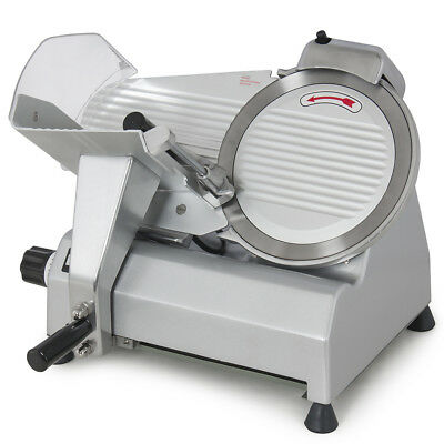 """10"""" Blade Commercial Meat Slicer Deli Meat Cheese Food Slicer Industrial Quality"""
