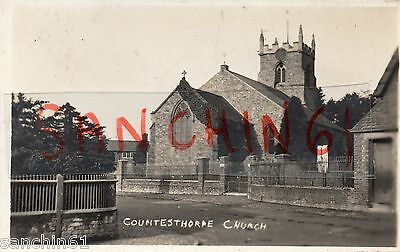 Countesthorpe Church Nr Hinckley , Leicester , Leicestershire Rp C1925