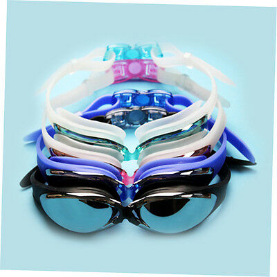 Adjustable Swimming Mariner Adult Goggles Anti Fog Chrome-plated Glasses zp