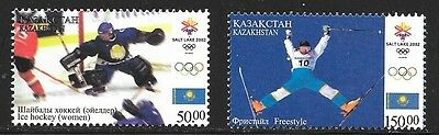 KAZAKHSTAN SC 353-4 NH issue of 2002 Sport Olympics
