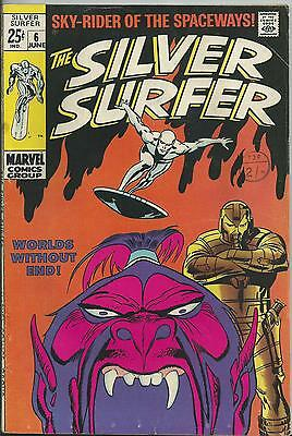Silver Surfer #6  (Marvel) (Fn- 5.5) 1969