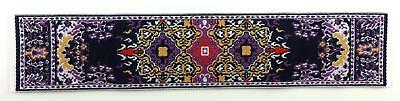 Dolls House Small Turkish Woven Carpet Runner Miniature Rug 1:12 Accessory 44
