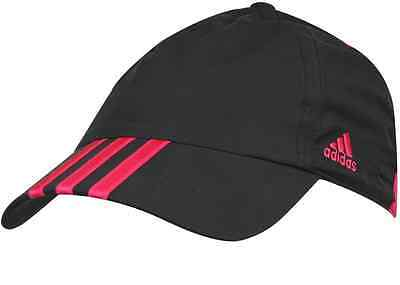 Ladies Womens Adidas 3 Stripe Climacool Golf Running Sports Cap Hat
