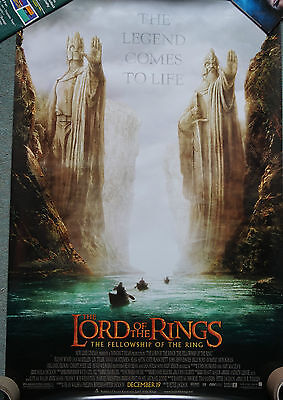 Lord Of The Rings (2001) US original,regular;style A; rolled; single sided