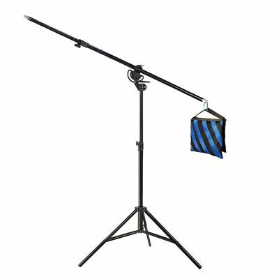 Ex-Pro H/Duty Umbrella Softbox Flash Light Boom Light Stand & Weight Sand Bag