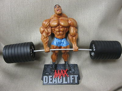 MAX DEADLIFT Xtreme Figurine Bodybuilding Weightlifting Collectible Gym Statue
