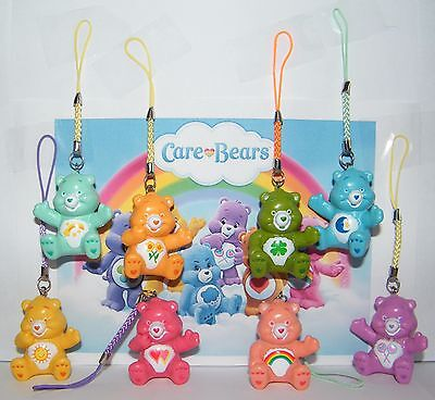 Care Bear Party Favors  Set of 8 Fun Dangler Figures That Hang on Anything