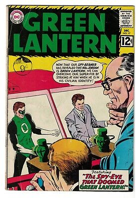 DC Comics GREEN LANTERN 17 VG 4.0 superman batman Sinestro