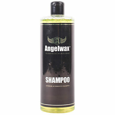 Angelwax Car Cleaner Concentrated Shampoo Detailing  Bodywork Wax Free 500ml