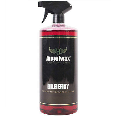 Angelwax Bilberry Wheel Cleaner Polish  Alloy Chrome Shine Dirt Remover 1 Litre
