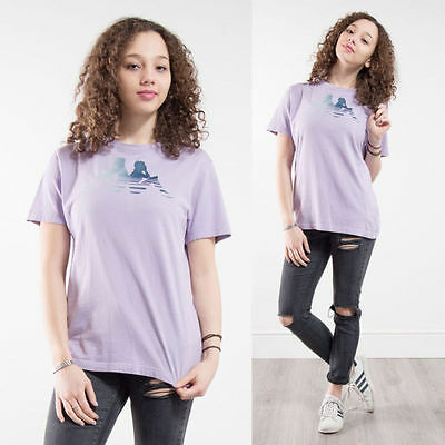 Womens Vintage 90's Kappa T-Shirt Top Oversize Crew Neck Sports Casuals 10 12