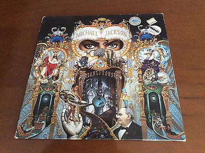 Michael Jackson - Dangerous Doppio Double  LP Hol Press Vg/m!!!!