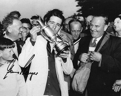 Gary Player, Open Championship 1959 Muirfield, signed 10x8 inch photo. COA.