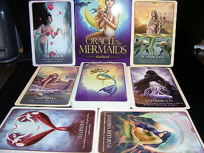 Sealed & Brand New! Mermaids Card & Book Oracle Legends & Lore Accurate Spreads