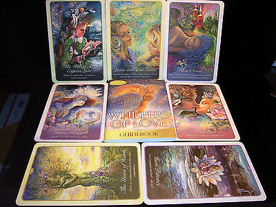 Sealed & Brand New! Whispers Of Love Card & Book Oracle Build Your Relationships