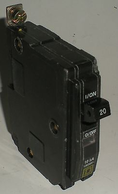 Electrical Circuit Breaker Square D Bolt In Single Pole Schneider Qo 20A Tested