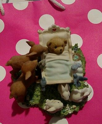"""Cherished teddies""""you've caught my heart"""""""