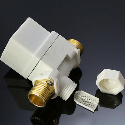 "1/2"" Electric Solenoid Valve For Water Air N/C Normally Closed DC 12V 0-0.8MPa"