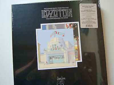 "Led Zeppelin 4 LP Box ""The song remains the same"" NEW-OVP 1973/2008"