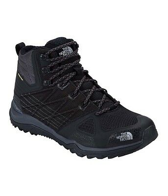 The North Face Mens Ultra Fastpack 2 Mid Gtx Hiking Boots  - Black