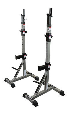 Valor Fitness Exercise Equipment Power Squat Stands