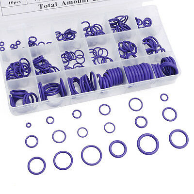 270X Seal O-Ring Set Car Air Conditioning Rubber Washer Assortment Kit New U2V4