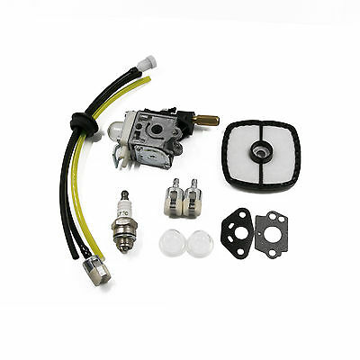 Carburetor & Fuel Maintenance Kit For Zama RB-K75 ECHO GT200 SRM210 HC150 Carb