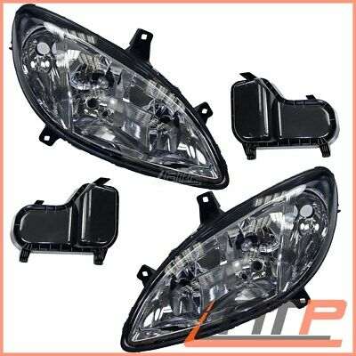 2X Headlamp Headlight H7/h7/h7 +Fog Lamp Left+Right Mercedes Viano Vito W639 03-