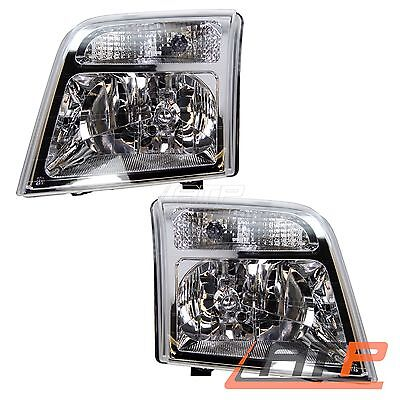 2X Headlamp Headlight H4 +Servo Motor Left+Right Ford Tourneo Connect