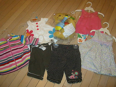 LOT OF GIRLS CLOTHES SIZE 3 - 6 MOS PLUS A Winnie the Pooh - Humming and Dancin