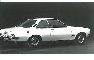 Opel Rekord 2 II Coupe Press Photograph 1960's Excellent Condition