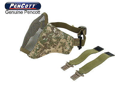 TMC Tactical Pencott Badlands Camo PDW Half Face Protective Mask for airsoft