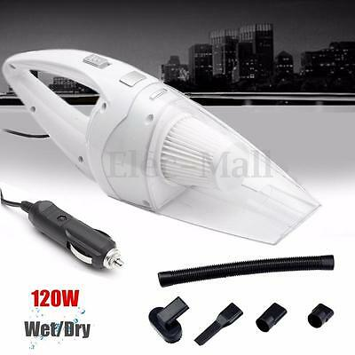 Portable Super 12V 120W Vehicle Car Handheld Vacuum Dirt Cleaner Wet & Dry