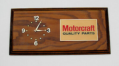 Rare 70-80's Ford Motorcraft Quality Parts Office Wall Clock