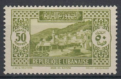 Liban Lebanon 1930 (*) Mi.184 Freimarken Definitives Landschaften [st1966]