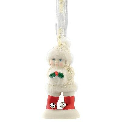 Snowbabies 4051938 Warm Holiday Hanging Ornament