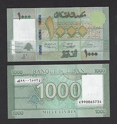 Lebanon 1000 Livres (2016) Replacement K99 NEW - UNC