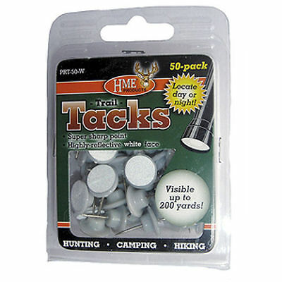 HME Plastic Reflective Tacks, 50 Pack