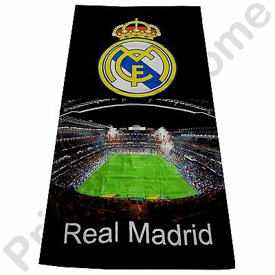 Real Madrid Cf 'stadium' Beach Bath Towel New Official